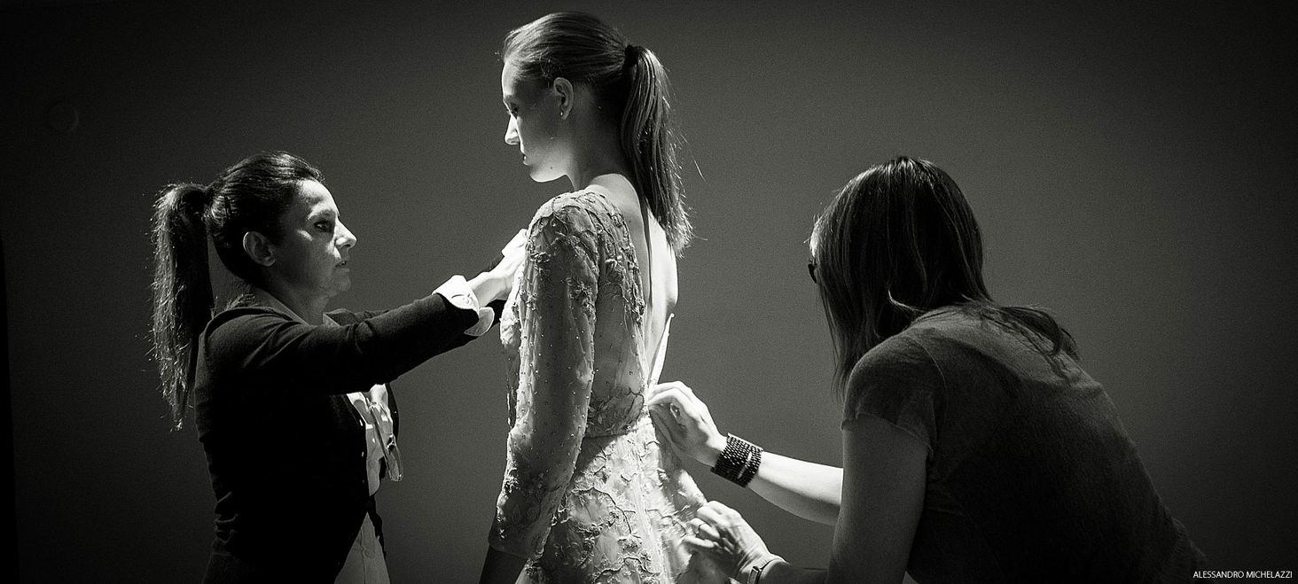 Alessandro Michelazzi Photography, Fadi El Khoury Fashion Show Preparation