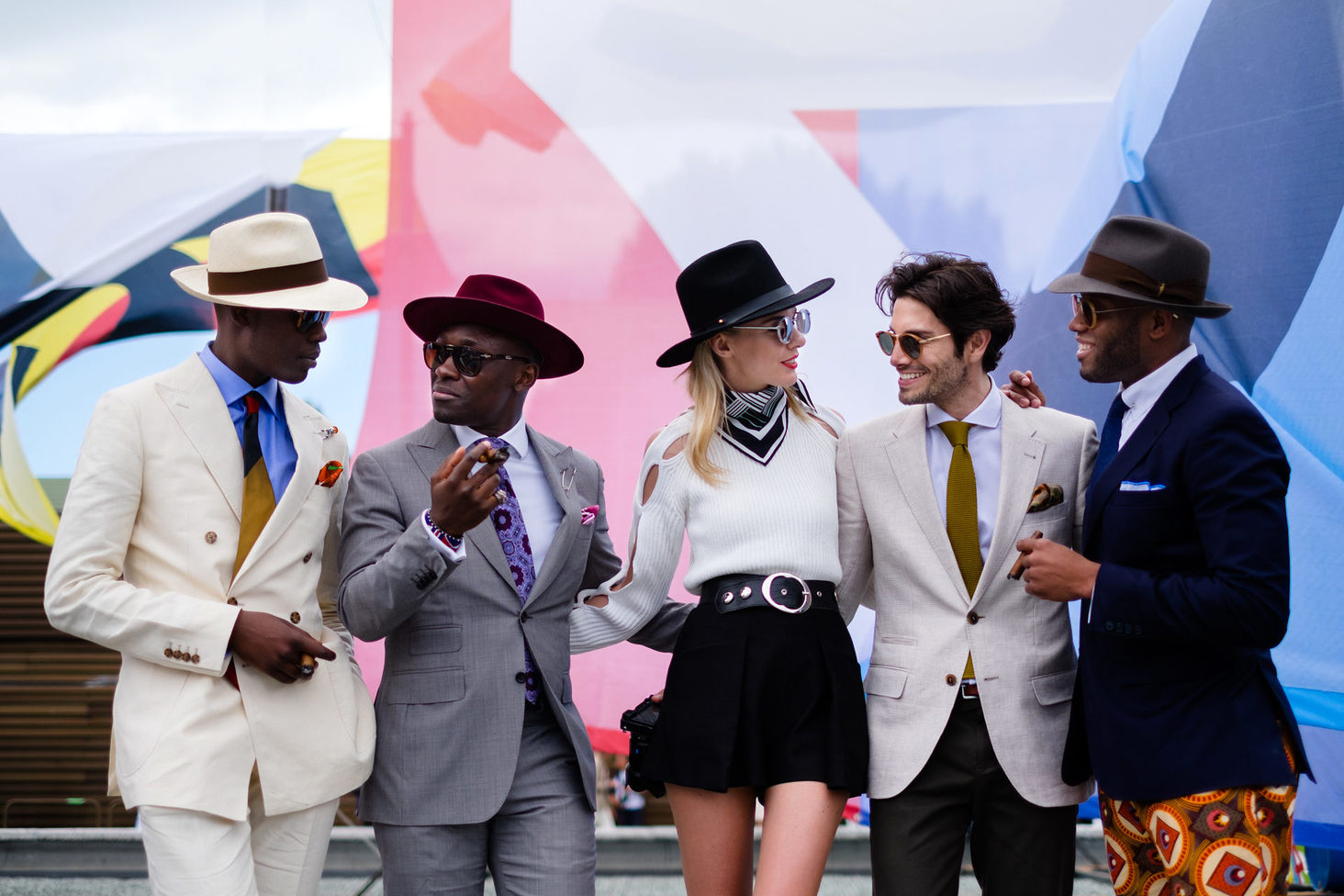 90 Pitti Uomo Florence photographs