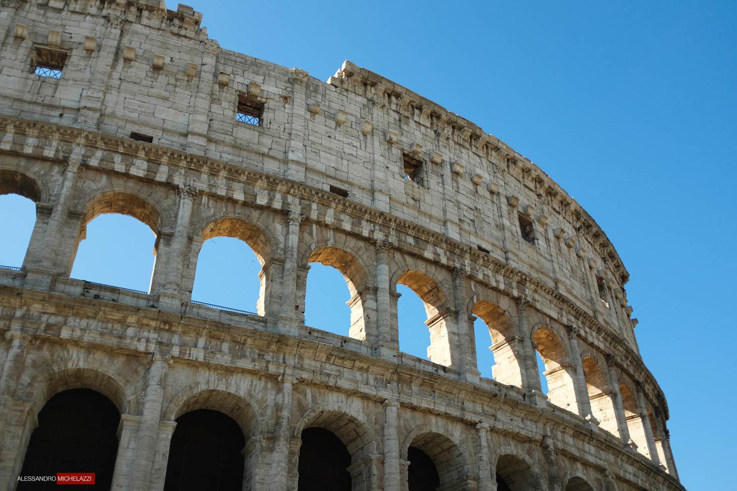 Antiteatro Flavio, detto il Colosseo in Rome