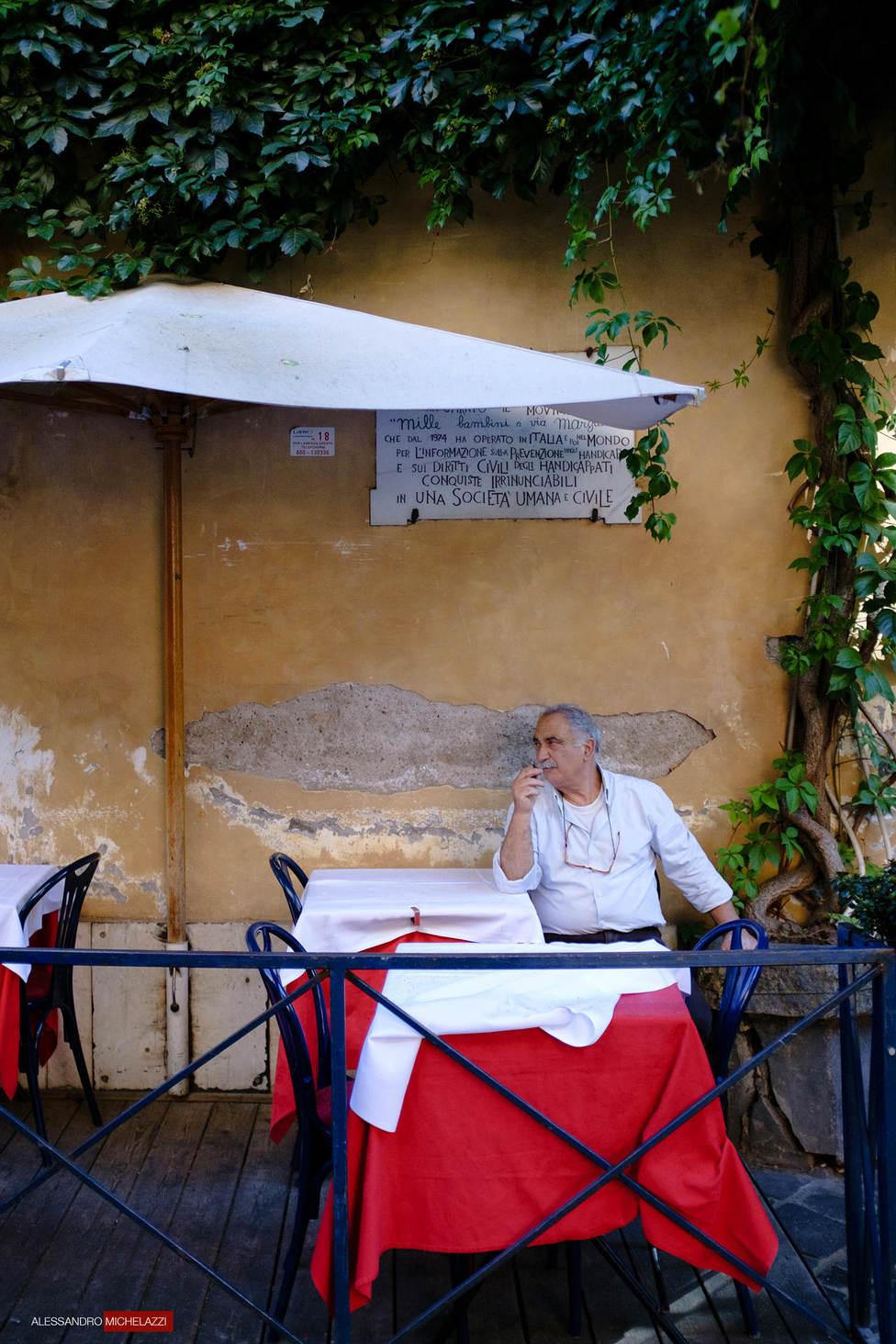 Street Photography in Via Margutta
