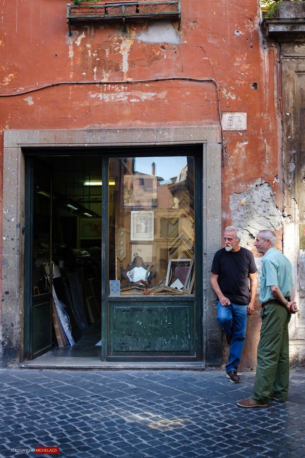 People in Via Margutta