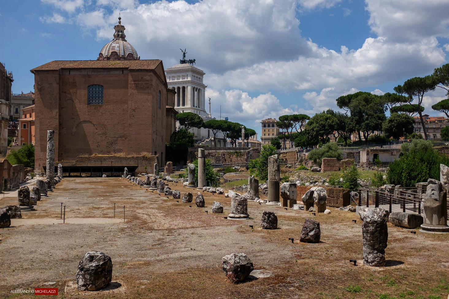 "A walk through the old ""Foro Romano"""