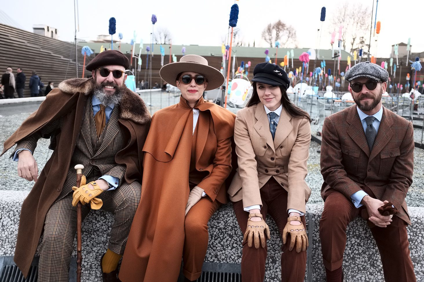 91 Pitti Uomo in Florence, Italy. Photos by Alessandro Michelazzi