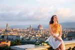 Gra'it by Bonollo. Shooting in Florence with the iconic views