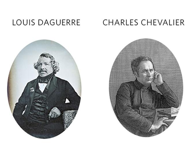 history daguerreotype chevalier daguerre