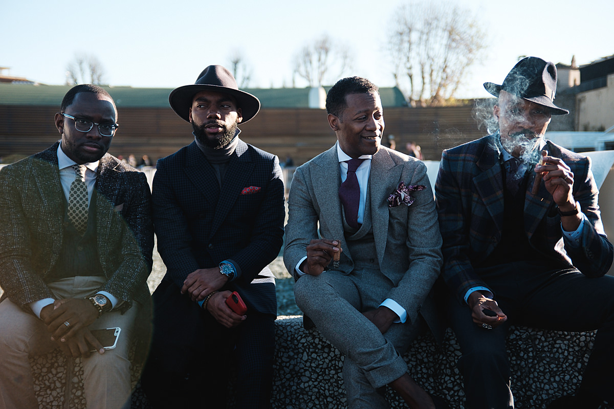 pitti uomo firenze winter edition