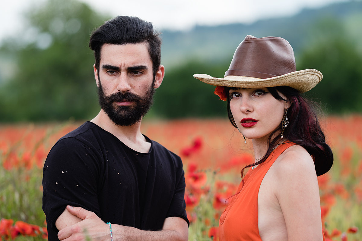 portrait photo session in tuscany area