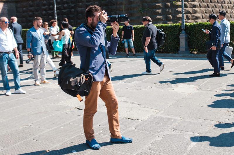 Pitti Immagine Uomo Backstage