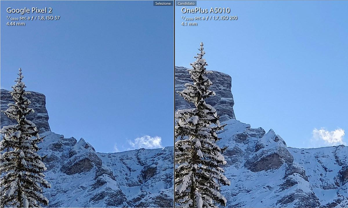 Google Pixel 2 vs One Plus 5t details