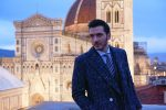 A fashionable low light portrait shooting session in Florence
