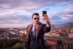 Portrait photos at Piazzale Michelangelo in Florence