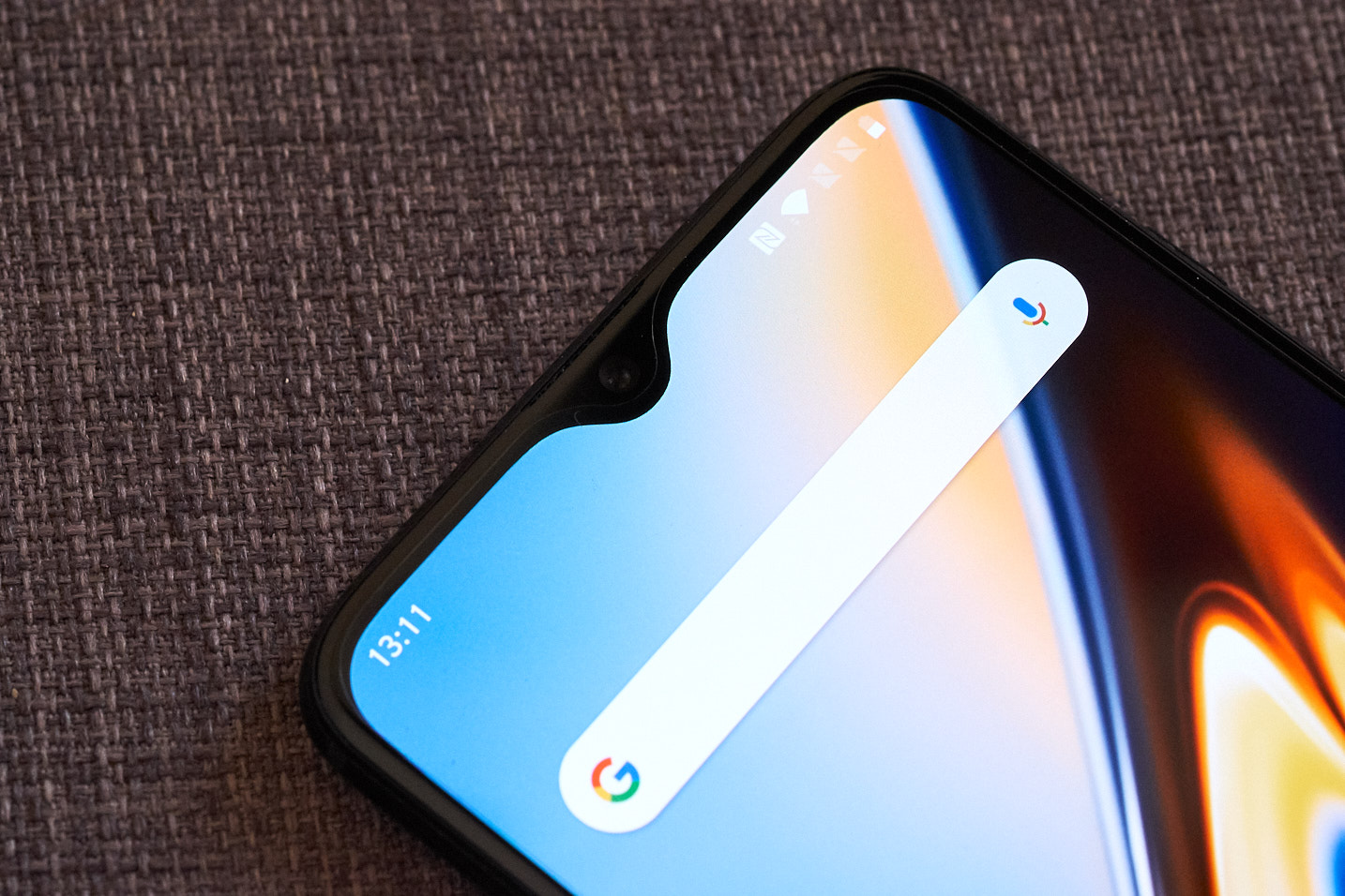 Notch of the OnePlus 6T