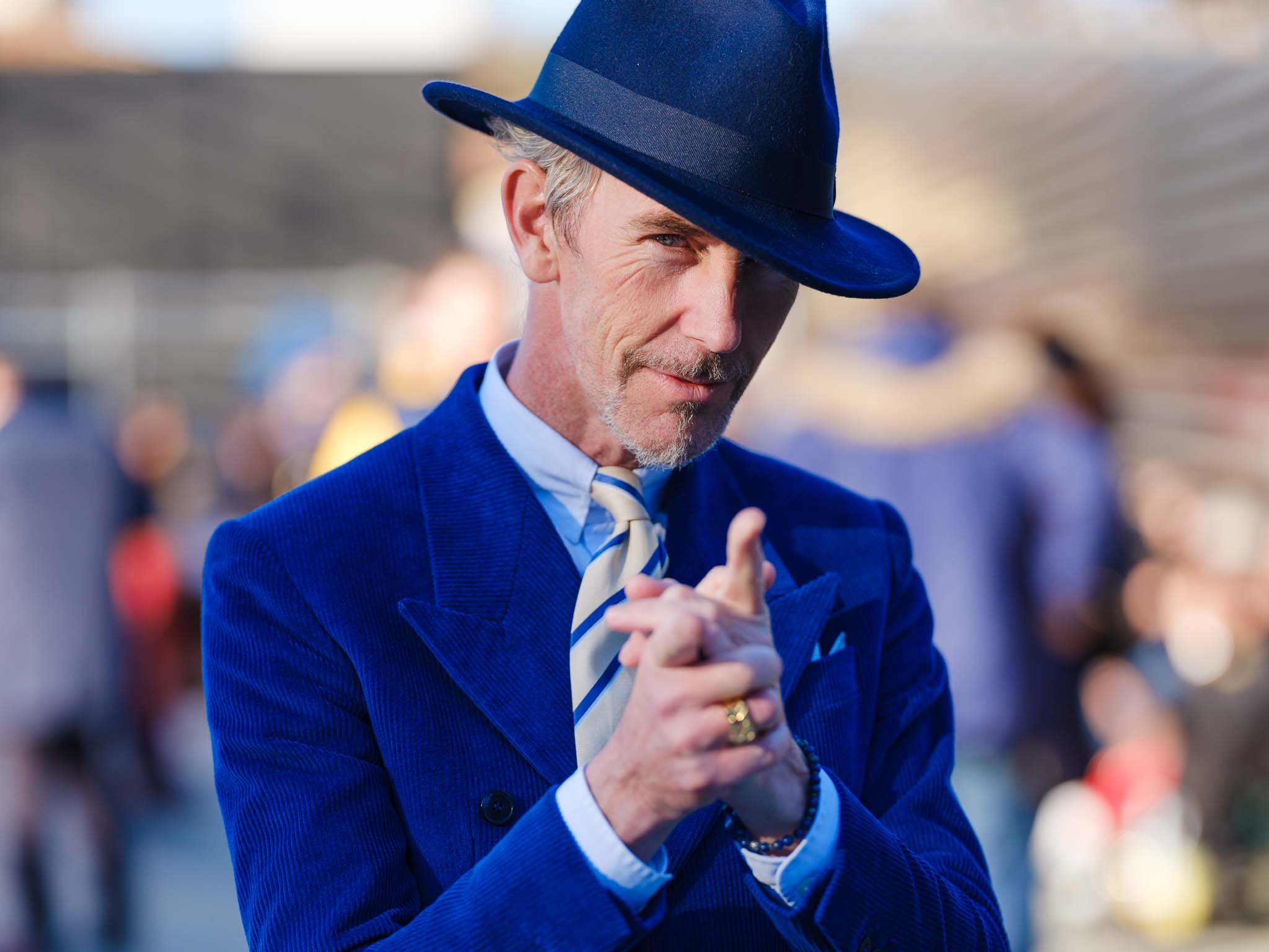 High resolution photographs from the 95th edition of Pitti Immagine Uomo in Florence