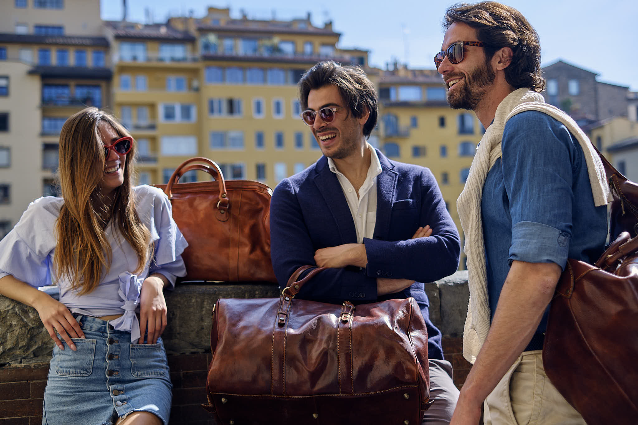 Photographic Brand Campaign in Florence, Italy
