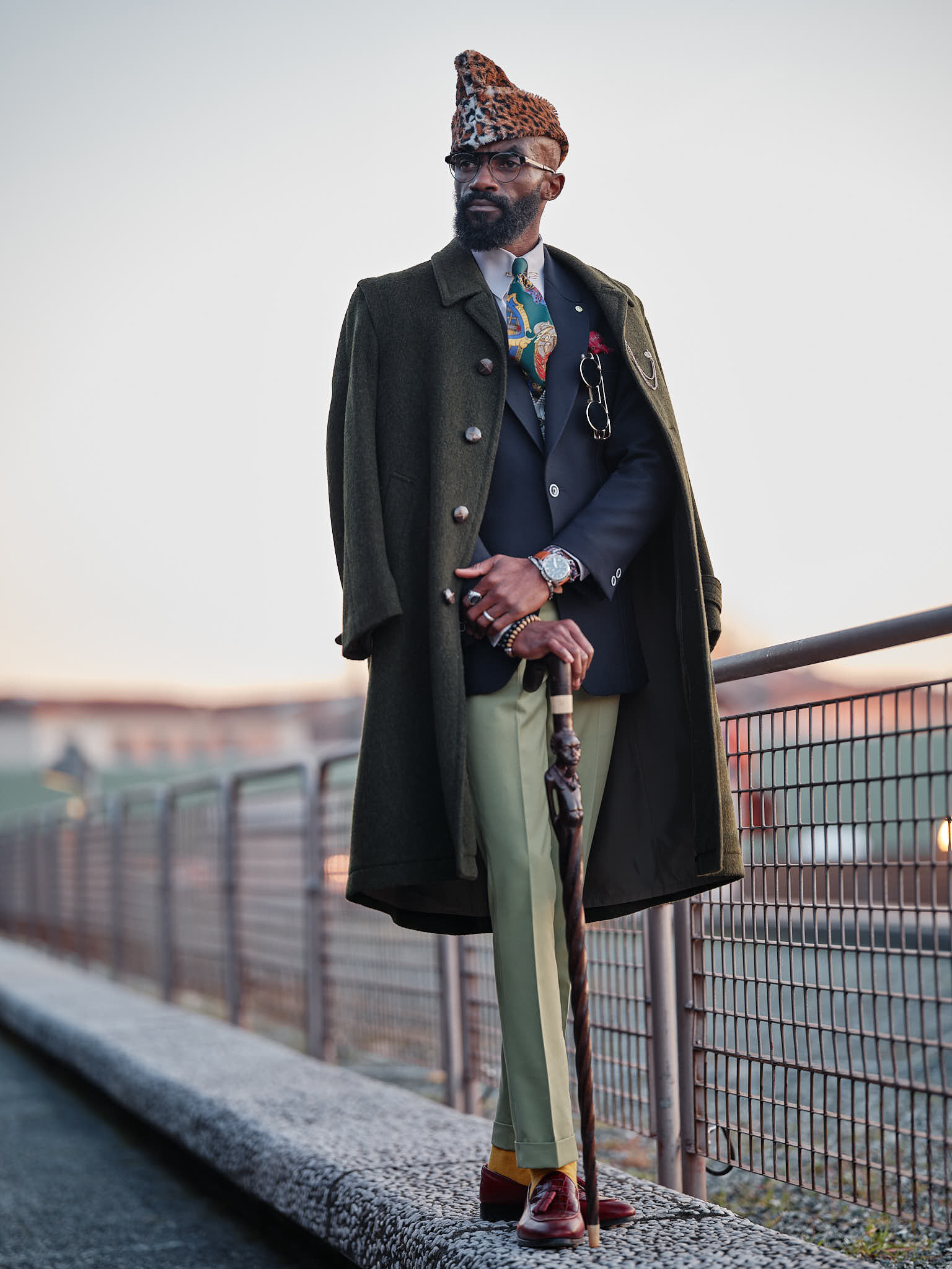 The photos from the 97th edition of Pitti Immagine Uomo fair in Florence