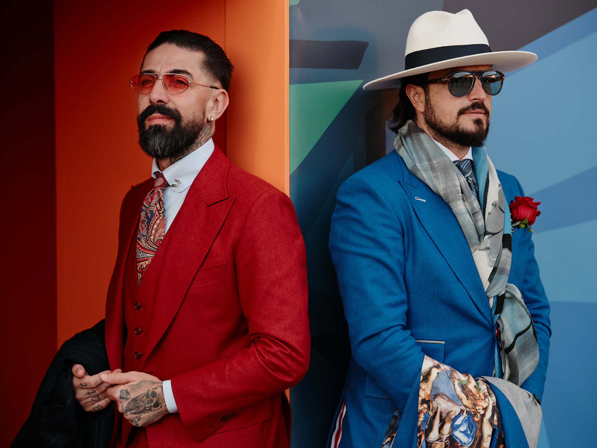 Fashion photography in Florence