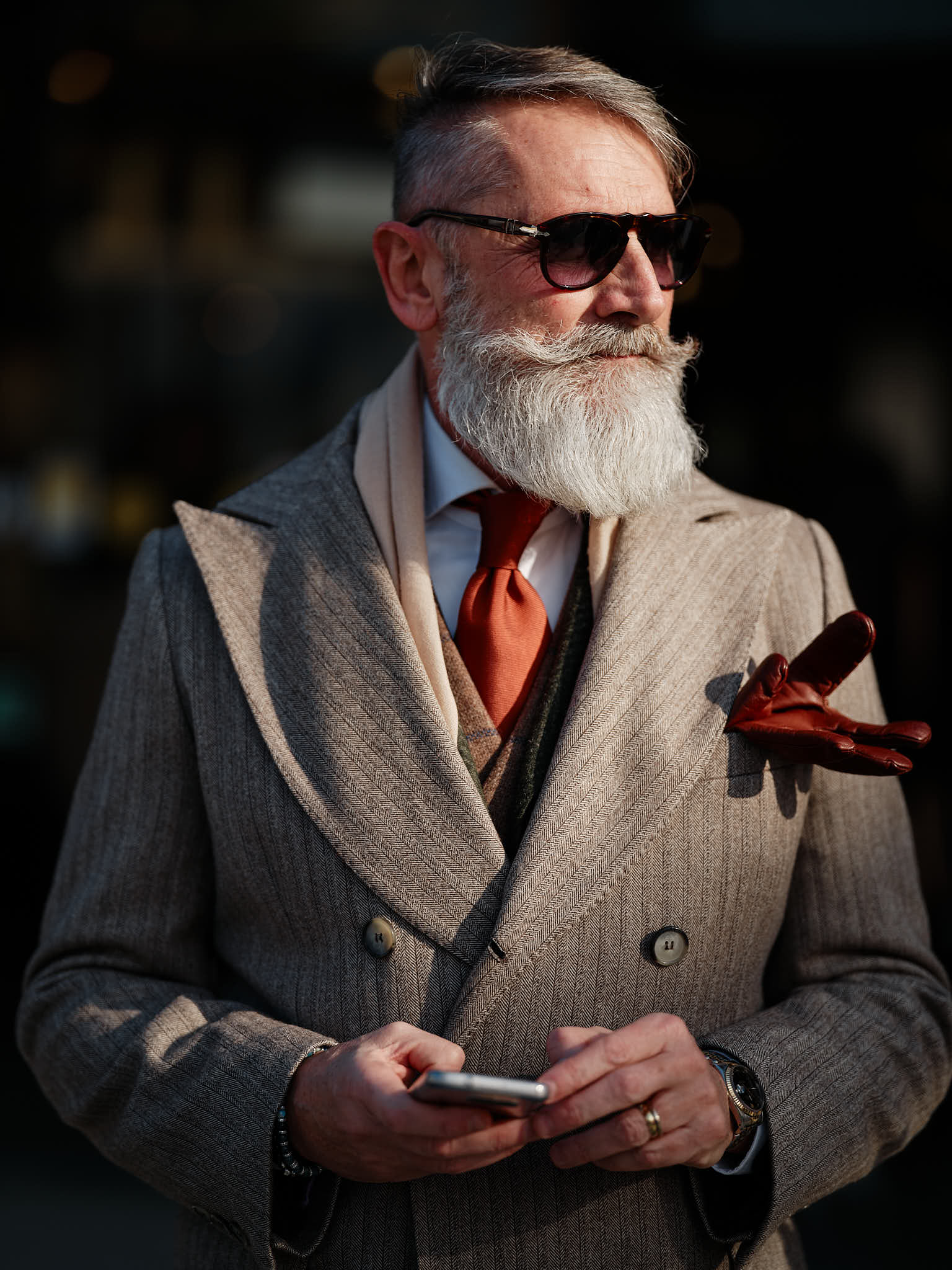 Photographer for Pitti Immagine Uomo in Florence