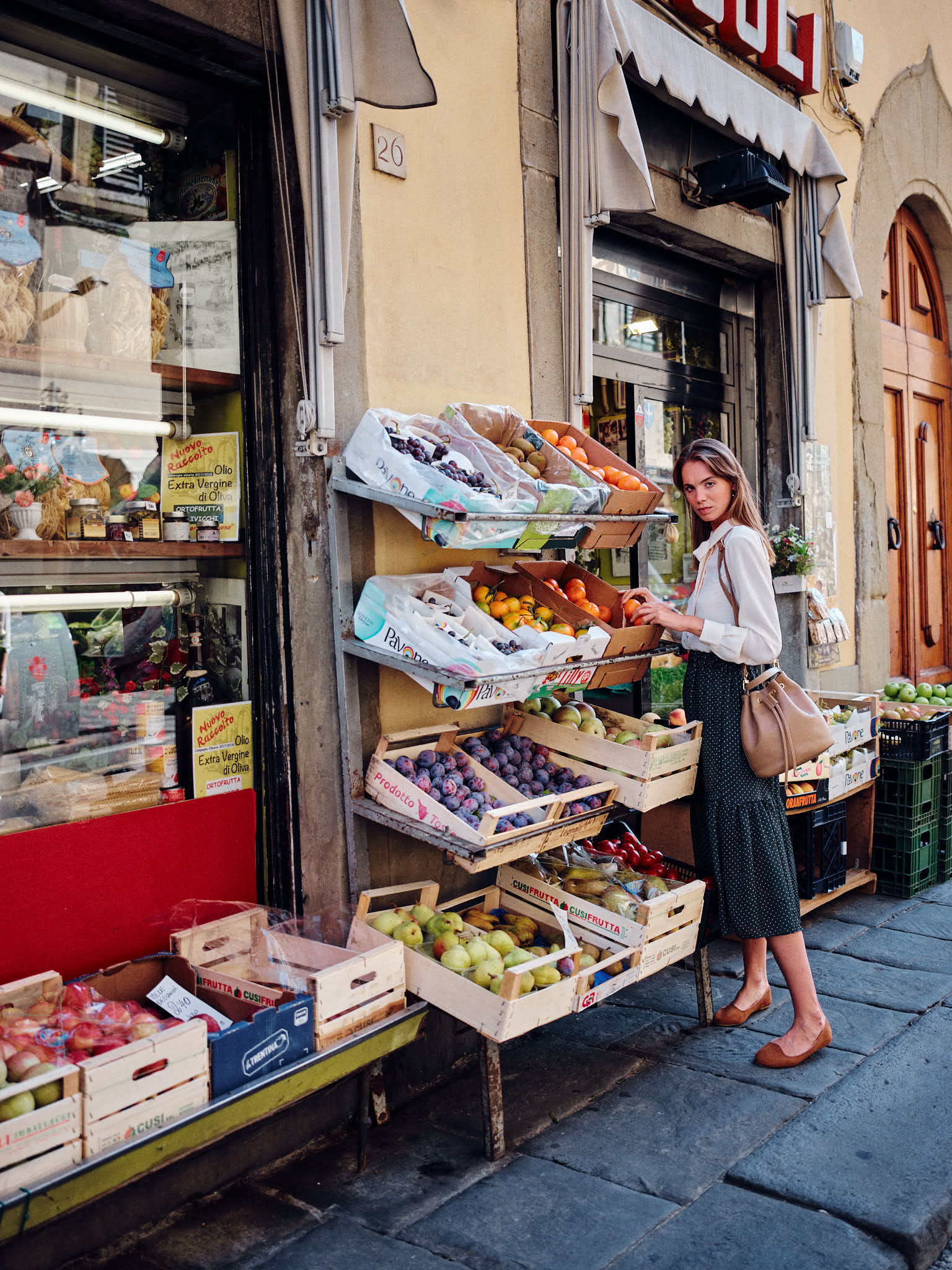 Street Fashion Photography Florence Italian Photographer
