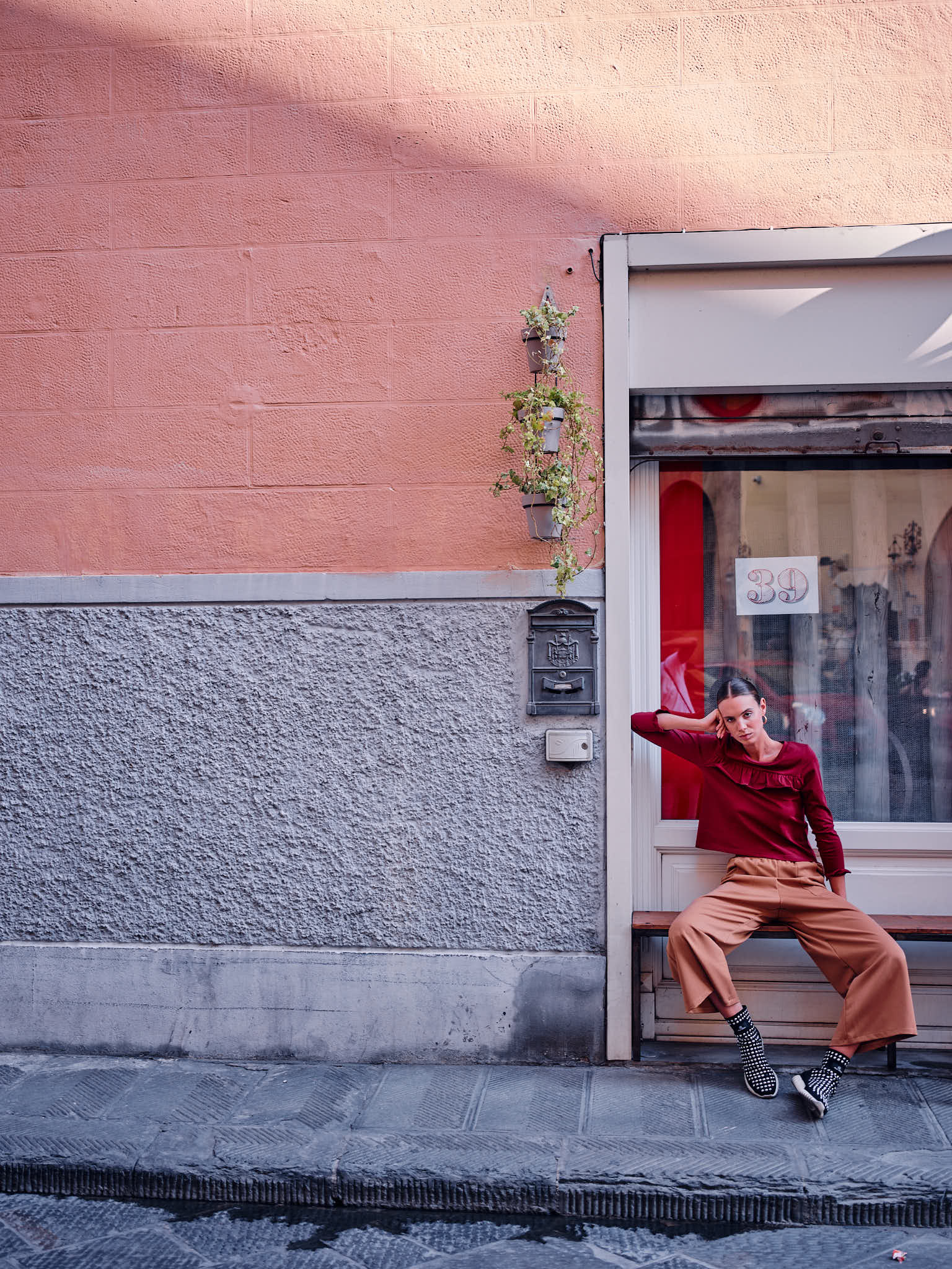 Fashion in the streets of Florence, Italian Photographer