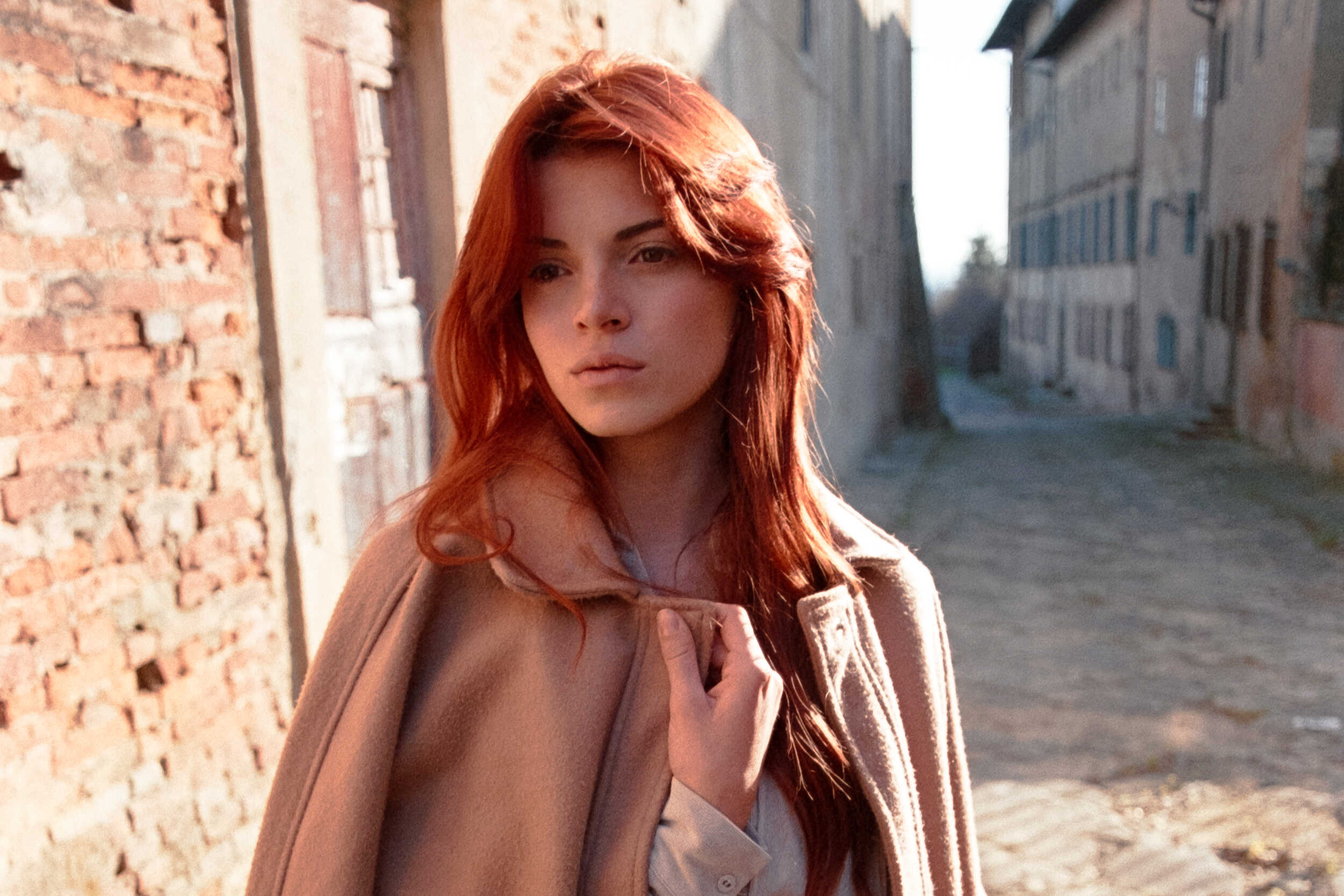 Analog Photography portrait session in Tuscany by Alessandro Michelazzi